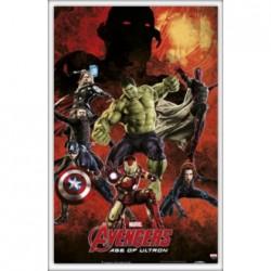 Cuadro Avengers (obra grafica)