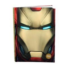 Libreta con luz Iron Man