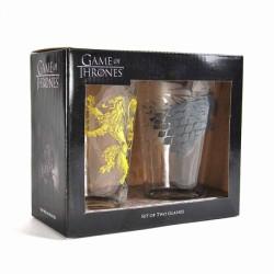 Set 2 vasos Juego de Tronos...