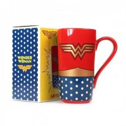 Taza latte WONDER WOMAN