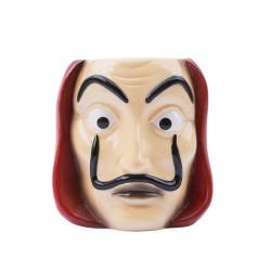 Taza 3D Mascara La Casa de...