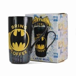 Taza latte mug BATMAN