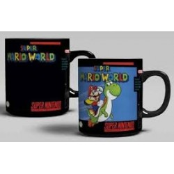 Taza termica Super Mario World